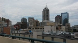 Indy rooftop