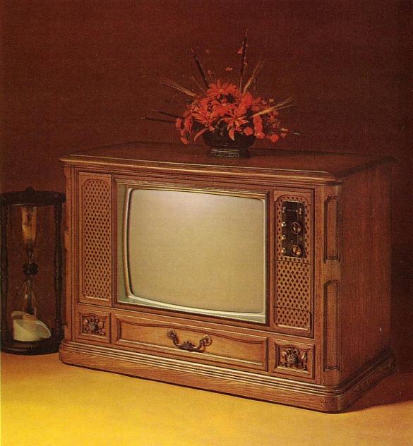 80s TV set