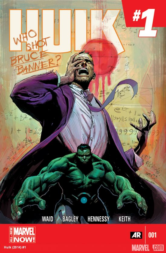 Hulk #1 cover by Jerome Opena