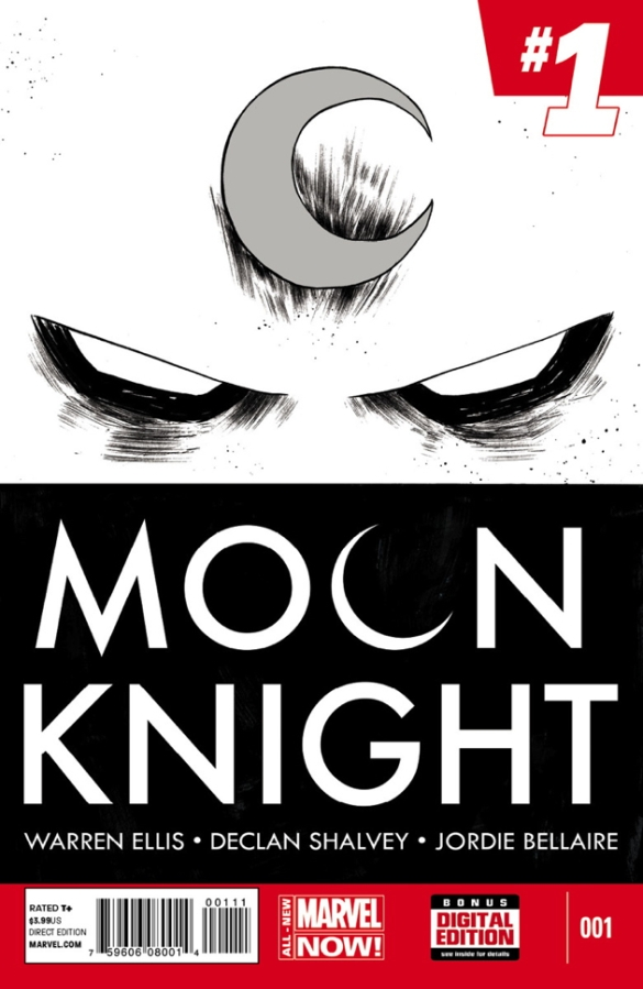 Moon Knight #1 cover by Declan Shalvey