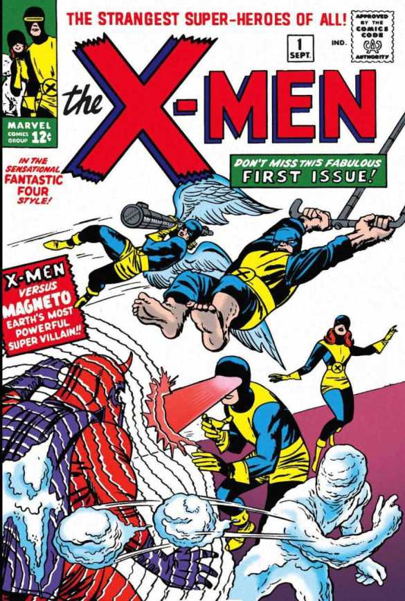 Cover of X-Men #1 by Jack Kirby