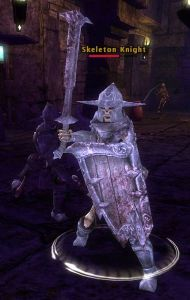The pre-level 9 PM skeletal knight looks like this fella