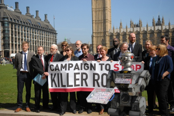 A UN meeting in May 2014 discussed a ban on autonomous machines.