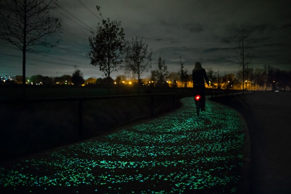 The Van Gogh-Roosegaarde bike path.