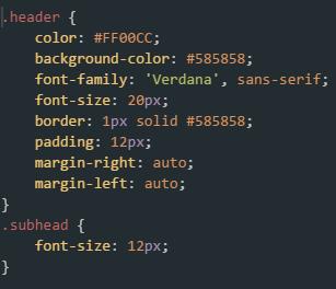 Longshot header CSS code
