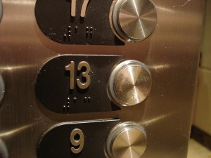 Incidentally, the first psychedelic rock band was named 13th Floor Elevators