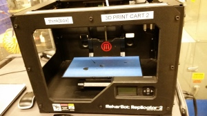 MakerGear's Makerbot tabletop 3D printer - designed, engineered and manufactured right here in Northeast Ohio