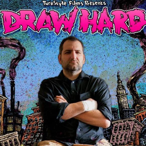 draw hard poster