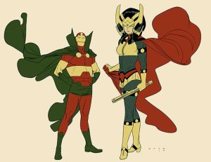 Mister Miracle - my winner for best costume and best comics character ever. And who knows, maybe i'll run into a Big Barda!