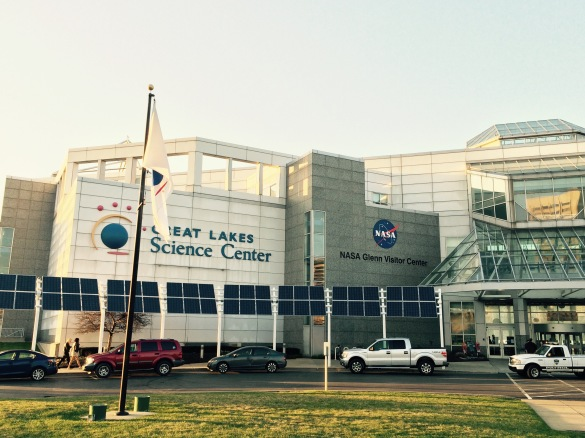 Great Lakes Science Center, where Yuri's Night Space Party 2015 was held in Cleveland