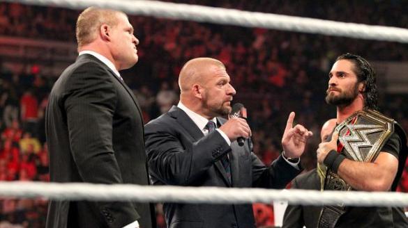 Triple H, Kane, Rollins