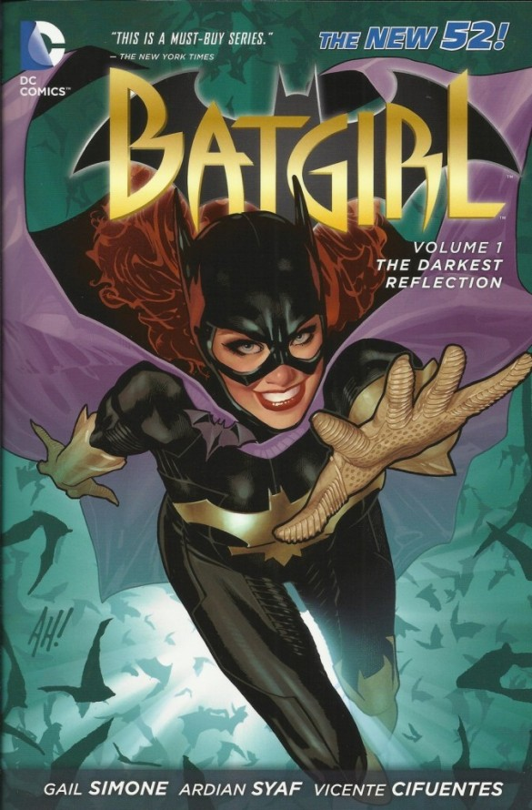 Batgirl, one of Gail Simone's numerous previous projects at DC Comics.