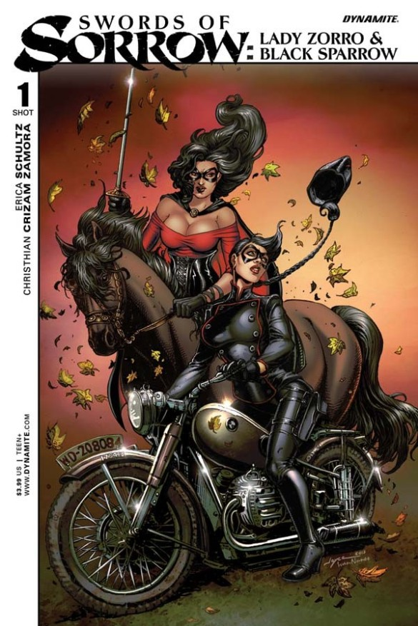 Swords of Sorrow: Black Sparrow and Lady Zorro one shot