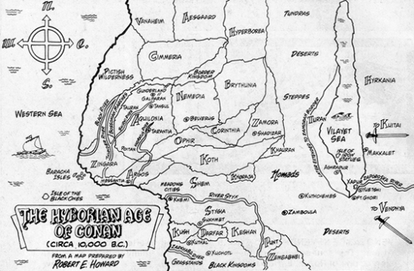 Hyboria map