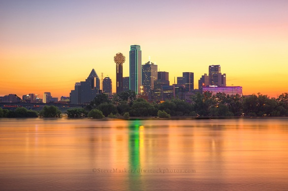 Dallas Skyline at Sunrise