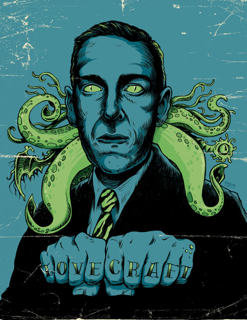 """Lovecraft"" by by Goulish Gary Pullin"